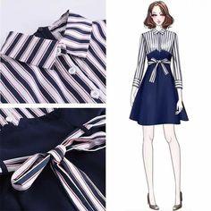 Korea Fashion, Asian Fashion, Look Fashion, Girl Fashion, Fashion Dresses, Womens Fashion, Style Ulzzang, Cool Outfits, Casual Outfits