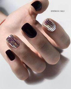 50 Trendy Nail Art Designs to Make You Shine The beauty of the nail arts is showcased in this article. We have presented some of the most exciting, different nail designs. These designs range from everyday concepts like solid . Trendy Nail Art, Stylish Nails, Matte Nail Art, Acrylic Nails, Coffin Nails, Silver Nail Art, Stiletto Nails, Gorgeous Nails, Love Nails