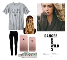 """""""Untitled #189"""" by luisalerman on Polyvore featuring yeswalker, J Brand and Natasha Accessories"""