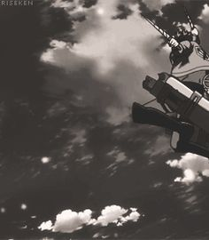Animation Reference Anime Fight, Animation Reference, Attack On Titan, Clouds, Anime Stuff, Outdoor, Action, God, Shingeki No Kyojin
