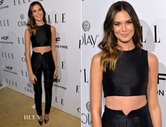 Odette Annable In Paper London - ELLE's Annual Women In Television Celebration