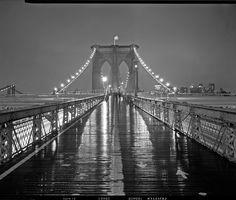 brooklyn bridge at night - Google Search