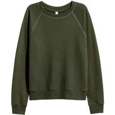 Sweatshirt 69 ($13) ❤ liked on Polyvore featuring tops, hoodies, sweatshirts, harness top, green sweatshirt and green top