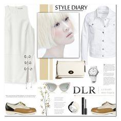"""DLR"" by anyasdesigns ❤ liked on Polyvore featuring Santoni, Michael Kors, Rebecca Minkoff, Filippa K, David Yurman, Dita, Pier 1 Imports, Chanel, women's clothing and women"