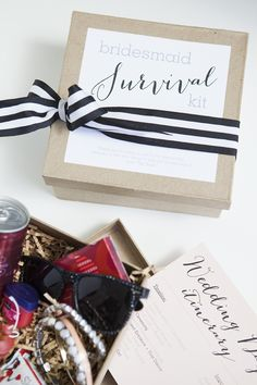 DIY Bridesmaid Survival Kit