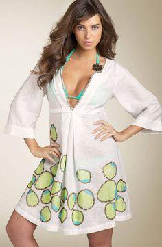Long Tunic Dress Pattern | CROCHET PATTERNS BATHING SUIT COVERUPS - Crochet Club