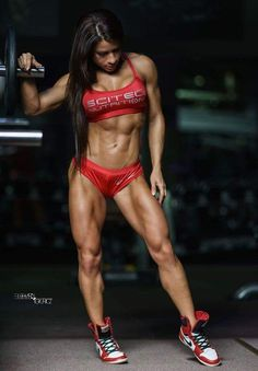 RIPPED BEAUTY of exotic #Fitness model : if you LOVE Health, Workouts & #Inspirational Body Goals - you'll LOVE the #Motivational designs at CageCult Fashion: http://cagecult.com/mma