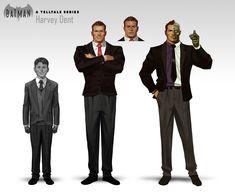 Batman: The Telltale Series, John Grello Batman Concept Art, Batman Art, Batman And Superman, Dc Comics Heroes, Arte Dc Comics, Dc Comics Characters, Comic Movies, Comic Books Art, Gotham