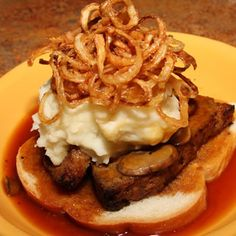 Hot Meatloaf Sandwich takeout Livonia restaurant