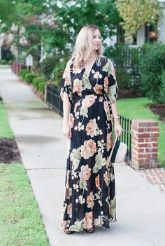 a89ede32f8 Reformation Maxi Dress…transition from summer to fall bloom girl blog.. Girl  Blog
