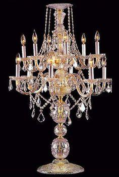 Candelabras & Centerpieces CHANDELIER Chandeliers, Crystal Chandelier, Crystal Chandeliers, Lighting