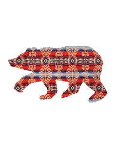 Pendleton Bear Print INSTANT DOWNLOAD by coldcupoftea on Etsy