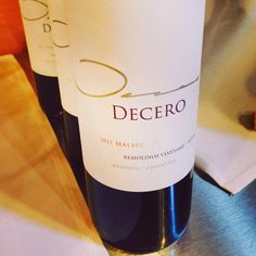Finca Decero Malbec from Argentina, a #certifiablydelish lil gem. Loaded w/ dark blackberry, red raspberry seed & blk peppercorns. A great wine for summer grillin! Perfect with flank steak & grilled romaine. (Just under $20)