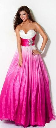 Gorgeous Shades of Pink Gown