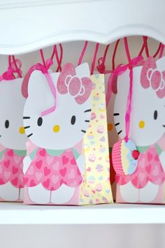 Hello Kitty Party Bags | 8ct for $12.65 in Hello Kitty - Party Themes