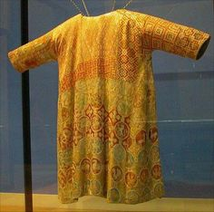 Tunic from 13th century is shown in Museum fur Angewandte Kunst, Vienna