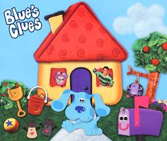 Welcome To Blue's Clues (A Lift-the-Flap Book) Childrens Yoga, Childrens Books, Blues Clues Book, Little Free Libraries, Free Library, Library Ideas, Felt Kids, Orange Kittens, List Of Characters