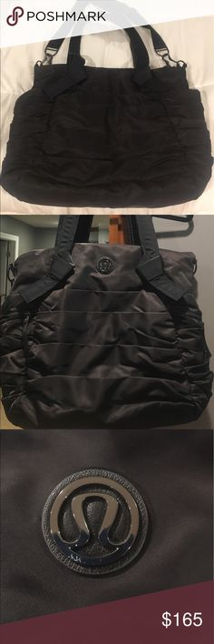 Lululemon EUC Bag. Excellent condition Lululemon Bag. Plenty of pockets inside and out of the bag. lululemon athletica Bags Shoulder Bags