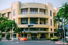 Bangkok City Library #library #Bangkok Places In Bangkok, City Library, Pattaya, News Media, Travel Agency, Seaside, Thailand, Multi Story Building, Street View
