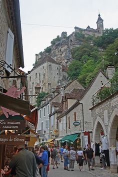 Rocamadour, France (by TheRevSteve)