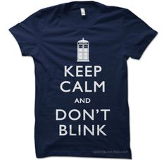 A classy Doctor Who shirt.
