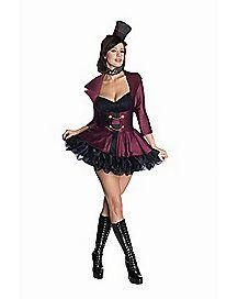 Willy Wonka Adult Womens Costume