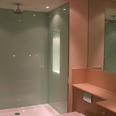 4 – Survey and Installation – Colour-Coated Glass shower walls | SSI