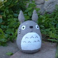 Raquel's Crafts: Simple Totoro crochet pattern