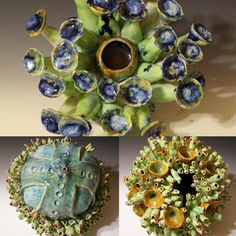 Ceramic Sculptures and Vessels made one at time Year 7, Clay Creations, Sculptures, Porcelain, Sea, My Favorite Things, Artist, Artwork, Handmade