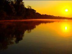 Ilha do Bananal começa e termina no encontro de dois rios (Grep) (Foto: Globo Repórter)