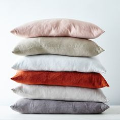"""Stonewashed Linen Pillow, 22"""" x 12"""" on Food52"""