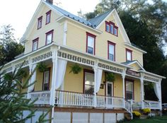 Gingerbread House Bed & Breakfast, Rockwood, PA. Built in 1903 in the Laurel Highlands Region.