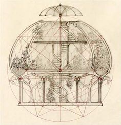 Interesting Find A Career In Architecture Ideas. Admirable Find A Career In Architecture Ideas. Architecture Drawings, Architecture Design, Sketches Arquitectura, Silo House, Dome House, Geodesic Dome, Earthship, Interior And Exterior, Concept Art