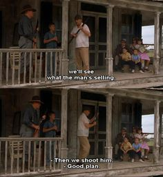 Secondhand Lions. An awesome plan!