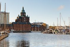 Morning at the Pier by Stefano Di Chiara on 500px. Uspenski Cathedral, Helsinki