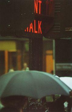 Saul Leiter,  Don´t Walk, 1952