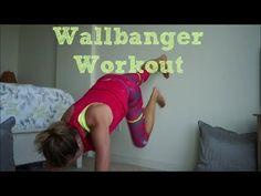▶ Wallbanger upper body and ab workout #pumafitness - RunToTheFinish - YouTube