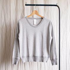 YAECA - UV Neck Knit #gray