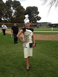 Race day outfit, races dress, races hat, races fascinator, fascinator, women's fashion, derby, ascot, Melbourne cup