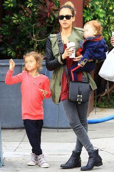 Mommy Style <3 Celebrity Moms, Celebrity Style, Danny Schwarz, Jessica Alba Style, Mommy Style, Miranda Kerr, Celebs, Celebrities, Mother And Child