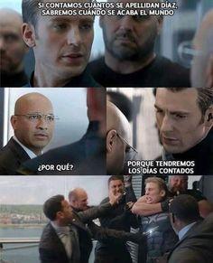 Funny Internet Memes, Stupid Funny Memes, Funny Relatable Memes, Funny Spanish Memes, Spanish Humor, Avengers Memes, Marvel Memes, Funny Photos, Laughter