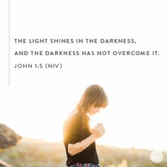 Ask Jesus to shed His light on your situation today. Look at this from Jesus' perspective. Use truth to do something positive in this area today. Invest the time to make a little imperfect progress right there. In the dark place. That won't be so dark with a little light cast upon it. -Lysa TerKeurst