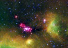 Infant Stars in Serpens (NASA, Spitzer, 10/24/06)