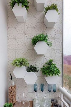 Create a Dream Veranda for your Home Beautiful To Fit Any Space New 2019 - Page 9 of 39 - clear crochet Apartment Balcony Garden, Apartment Balcony Decorating, Design Balcon, Le Hangar, Veranda Magazine, Vertical Garden Wall, Ral Colours, Flooring Options, Loft Style