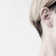 Image of Thorn ear cuff