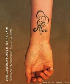 New Ideas For Doll Tattoo Ideas Tatoo Mom Dad Tattoo Designs, Mom Dad Tattoos, Mother Tattoos, Tattoo Designs Wrist, Tattoo Designs For Women, Tattoos For Guys, Tattoos For Women, Baby Tattoos, Henna Designs