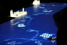 Interactive display at the Museum of London's new galleries