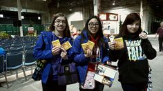 NewCa.com: 2016 Canada Blooms. Bring Back The Bees The bees need us. Join General Mills in planting 35 million wildflowers to help the bees. Honey Nut Cheerios team gives away fild flower seeds @Canada Blooms #canadablooms2016 #canadablooms #flowers #florist #plants #blossom #bloom #blooms gardening #flowerparty #gardens #BringBackTheBees #HoneyNutCheerios #Cheerios