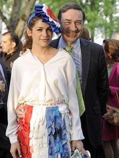 Cósima y su padre, Pedro J. Ramírez