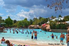 Blizzard Beach Wave Pool - June 2012 it was great!